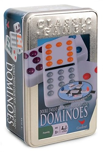 Cardinal-Double-12-Color-Dot-Dominoes-in-Collectors-Tin-Styles-May-Vary