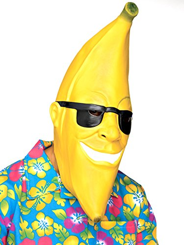 Fun World Banana Man Adult Mask-Standard