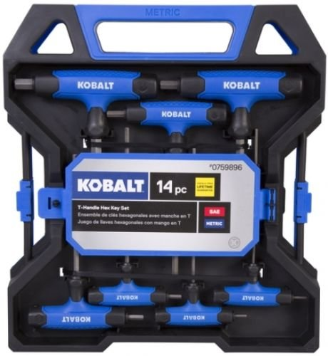 Kobalt 14 Piece T-Handle Hex Key Set by Kobalt