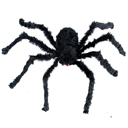 1PCS 50 INCH Halloween Decoration Virtual Realistic Hairy (Diy Halloween Spider Prop)