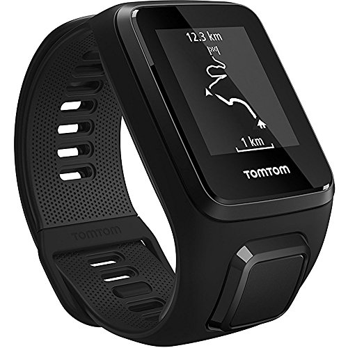 TomTom Spark 3, GPS Fitness Watch and Activity Tracker (1RL0.002.01) Black, Small + 1 YEAR EXTENDED WARRANTY by TomTom (Image #1)