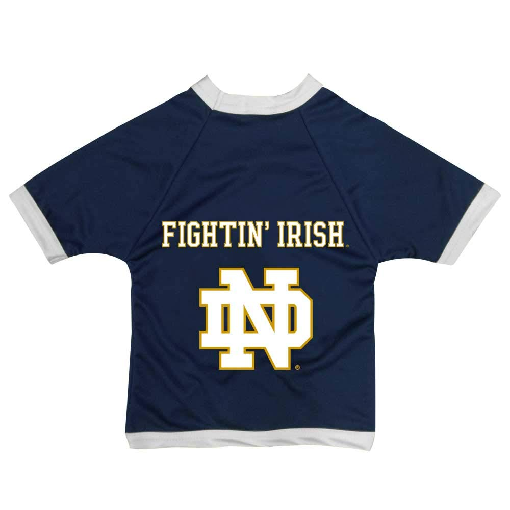 All Star Dogs NCAA Notre Dame Fighting Irish Athletic Mesh Dog Jersey, XX-Small