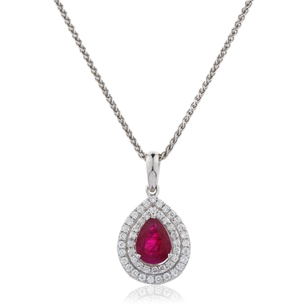 Triostar 925 Sterling Silver Simulated Diamond Studded Pendant Necklace Jewelry for Women Girls