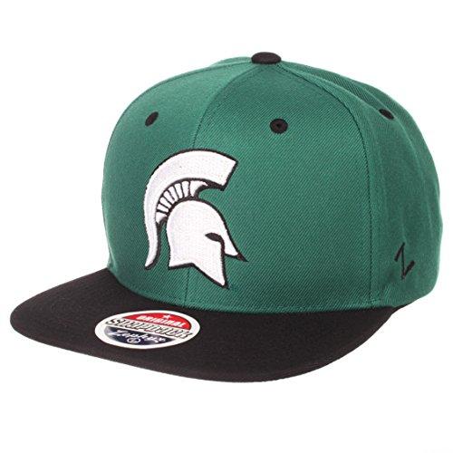 6aba3fedd34d9 ZHATS NCAA Michigan State Spartans Men s Z11 Static Snapback Hat