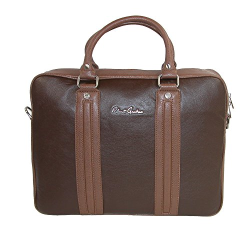 Robert Graham Men's Roman Briefcase, Brown by Robert Graham