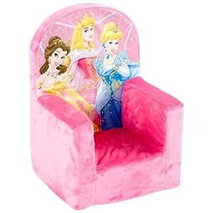 Marshmallow Fun Furniture High Back Chair Disney Princess