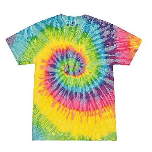 Colortone Tie Dye T-Shirt XL Saturn