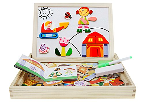 jigsaw puzzle board with drawers - 3