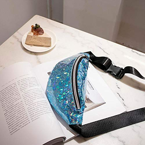 Packs A D Cintura de PU Deporte Lentejuelas de Bolsas Moda de Cuero xintiandi Hombro Bolsas Mujeres Pecho wZqa1aY