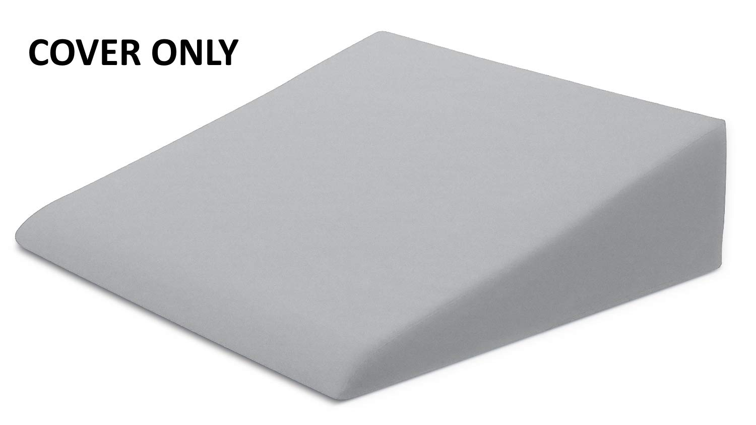 Xtreme Comforts Bed Wedge Pillow Case - Microfiber Cover Designed to Fit Our (27 'x 25'' x 7'') Bed Wedge Pillow (Gray) by Xtreme Comforts