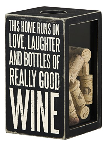primitives-by-kathy-this-home-runs-on-good-wine-cork-cap-holder-black-large