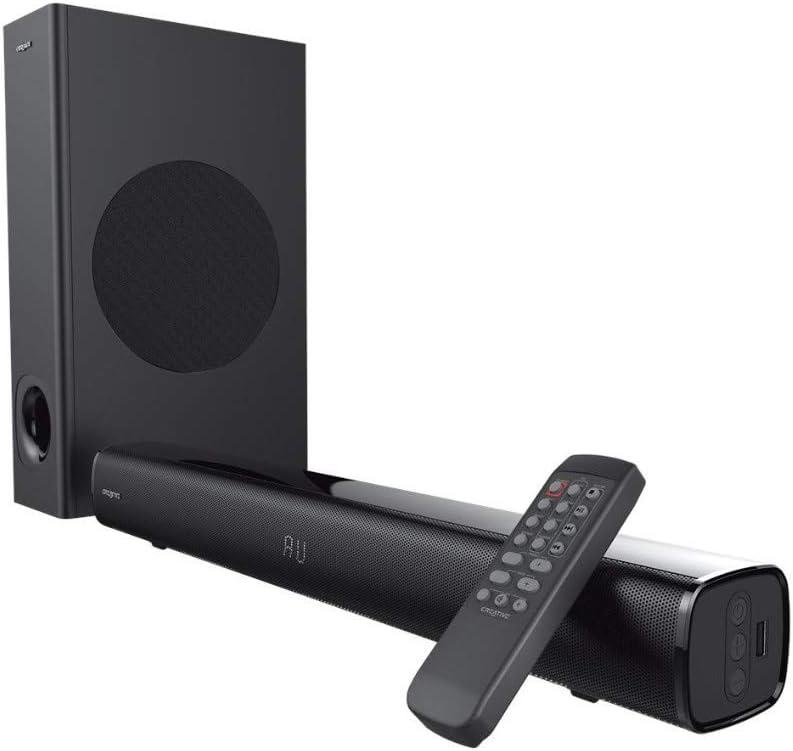 Barra de sonido Bluetooth Creative Stage 2.1 con subwoofer por 68,23€ (marcando aplicar cupón)