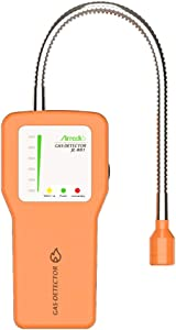 AirRadio JL-881 Combustible Gas Sniffer Portable Gas Sniffer to Locate Gas Leaks of Gases Like Methane, LPG, LNG, Fuel, Sewer Gas Leak Meter 12-Inch Gooseneck Has Range Gas Tester Meter Sensor Alarm