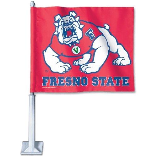 WinCraft NCAA Fresno State University Car Flag, 11.75 x 14 11.75 x 14 06276081