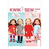 Kwik Sew Patterns K3965 Clothes for 18-Inch Doll Sewing Template, One Size / One Size Only. Includes pattern pieces and sewing instructions. Made by Kwik Sew. Copyright? 2038. Printed in the USA. .