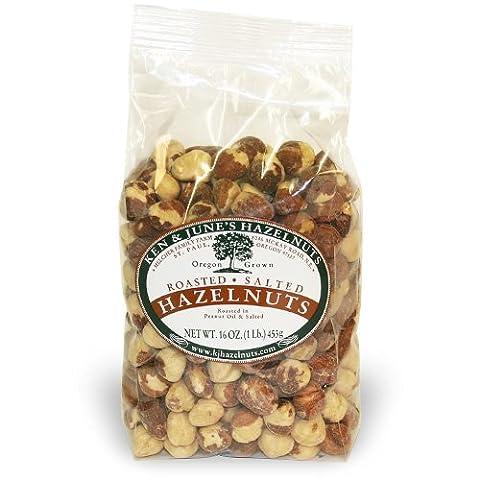 Roasted/Salted Hazelnut - 16 Oz Bag (Hazelnut Roasted)