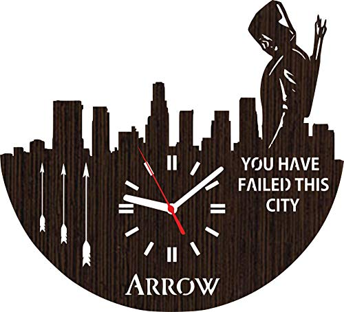 4 Seasons Costumes Ideas - Wooden wall clock the green arrow