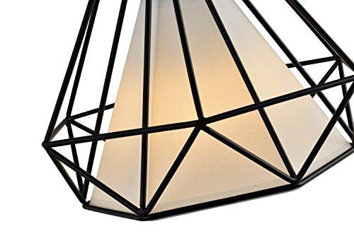 Diamond Shade Wrought Iron Chandelier