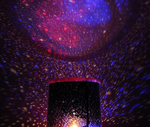 Rotating Music Astro Cosmos Star Starry Sky Projector Night Light Romantic LED Lamp ()