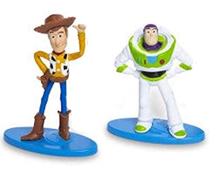 Amazon.com: Disney Pixar Toy Story 4 Mini Figures Cake ...