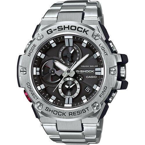 Casio Reloj Hombre de Digital con Correa en Acero Inoxidable GST-B100D-1AER: Amazon.es: Relojes
