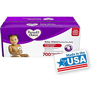 Parent\s Choice - Fresh-Scent Baby Wipes, 100ct,