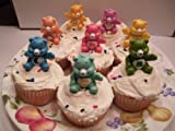 Care Bear Cake Topper / Cupcake Decorations Set of 16