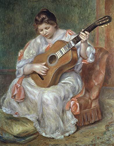 (Pierre-Auguste Renoir The Guitar Player Musee des Beaux-Arts de Lyon 30