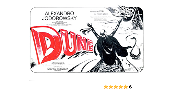 Details about  /Jodorowsky/'s Dune Classic Movie Large Poster Art Print Gift A0 A1 A2 Maxi