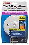 Kidde 408-900-0102-02 KN-COSM-B Battery-Operated Combination Carbon Monoxide and Smoke Alarm with Talking Alarm by Kidde
