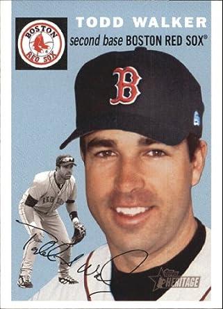 Amazoncom 2003 Topps Heritage Baseball Card 272 Todd