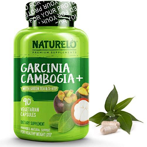 NATURELO Garcinia Cambogia Weight Loss Management - 100% Natural Supplement with Pure Garcinia Cambogia