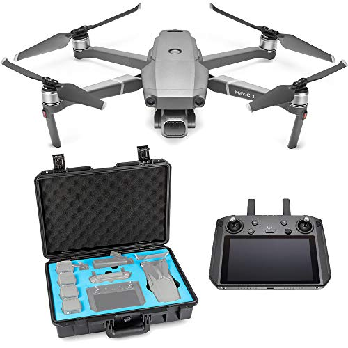 DJI Mavic 2 Pro Drone Quadcopter with Smart Controller, Starter Bundle, Waterproof Case