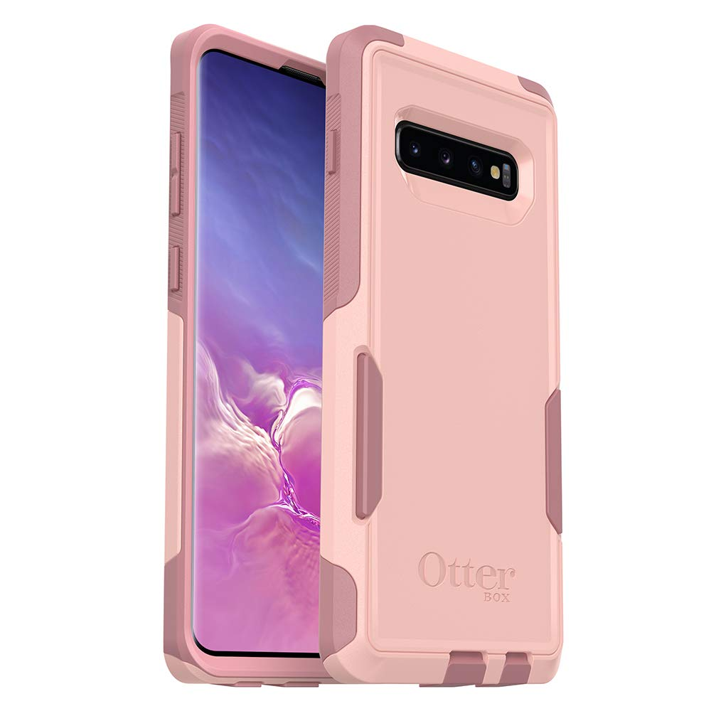 OtterBox COMMUTER SERIES Case for Galaxy S10+ - Retail Packaging - BALLET WAY (PINK SALT/BLUSH) by OtterBox