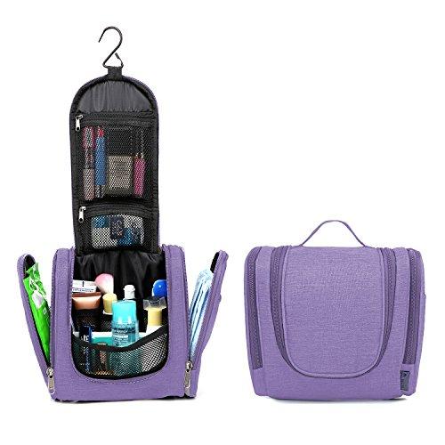 10612c983539 Mardingtop Hanging Travel Toiletry Bag For Men   Women (Lavender Fog5928)