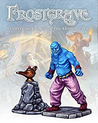 Frostgrave Genie and Lamp from North Star Military Figures