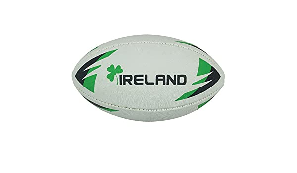 Precision Training Irlanda Balón de Rugby con látex Tamaño Mini ...