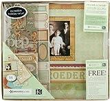 K&Company Ancestry 12-by-12-Inch Scrapbook Kit