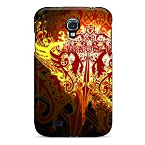 Rewens Wxx1295Uvtd Case Cover Skin For Galaxy S4 (liverpool On Fire)