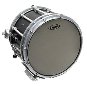 evans hybrid grey marching snare drum head 14 inch musical instruments. Black Bedroom Furniture Sets. Home Design Ideas