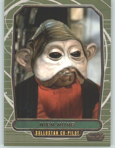 2012 Star Wars Galactic Files #168 Nien Numb (Non-Sport Collectible Trading Cards) from Star Wars