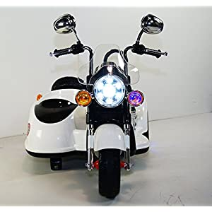 Motorbike Style. rideONEcar 12V Battery Operated Electric Ride On Toy Car For Kids