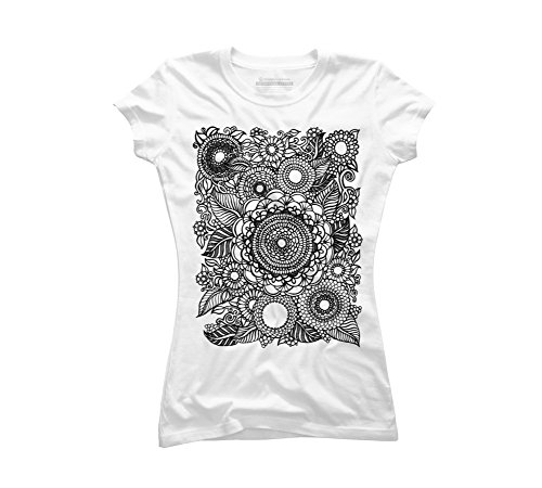 Flowers Juniors Tattoo T-shirt - 9