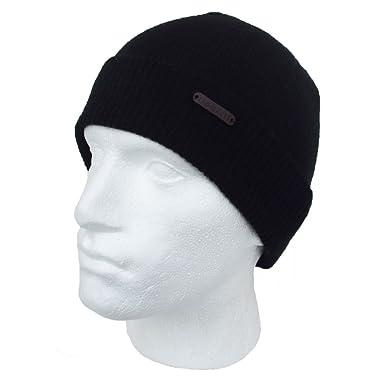 a4784d61269 Ted Baker Beanie Hat Black Wool Doonut  Amazon.co.uk  Clothing