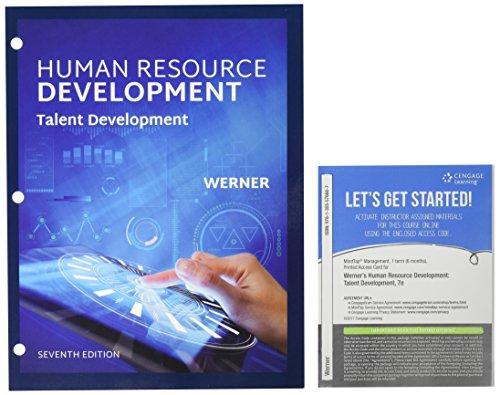 Bundle: Human Resource Development: Talent Development, Loose-Leaf Version, 7th + MindTap Management, 1 Term (6 Months) Printed Access Card