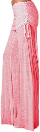 Memories Love Women's Comfy Fashion Bell Bottom Pants Dance Wide Leg Pants