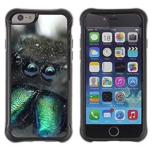 iKiki Tech / Estuche rígido - Cute Monster Creature Furry Spider Animal - Apple iPhone 6 PLUS 5.5