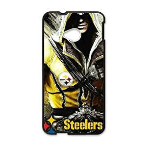 Happy Steelers Hot Seller Stylish Hard Case For HTC One M7
