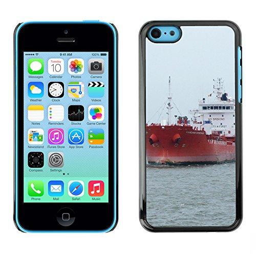 Premio Sottile Slim Cassa Custodia Case Cover Shell // F00008489 bateau // Apple iPhone 5C
