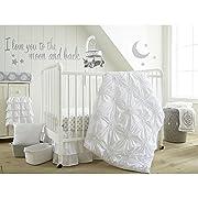 Levtex Home Baby Willow 5 Piece Crib Bedding Set, White